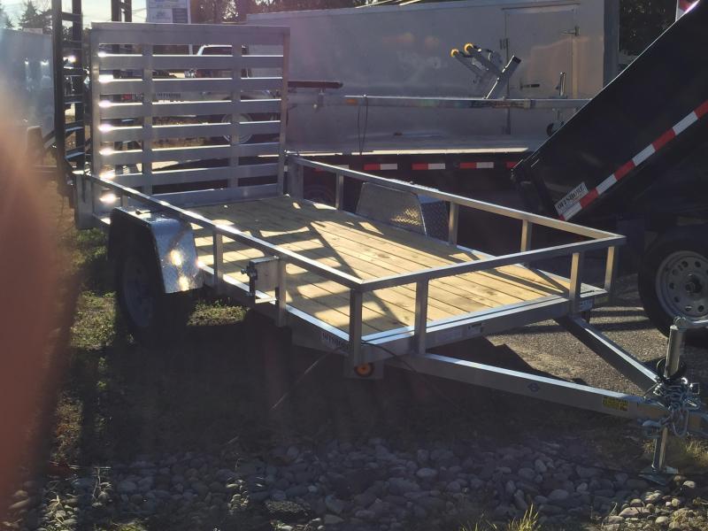 2020 5x12 aluminum utility landscape trailer