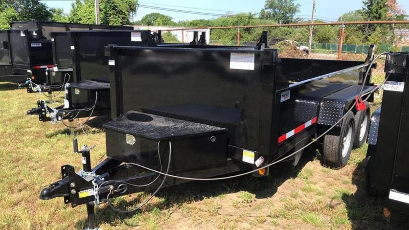 2020 Quality Steel and Aluminum 6X12 7k LOW PROFILE Dump Trailer