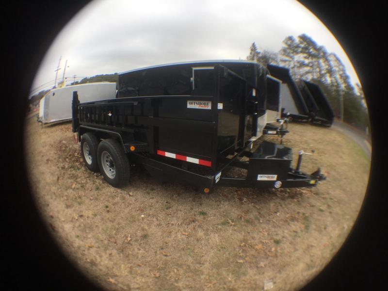 2020 Quality Steel and Aluminum 83x12 LP 12K Dump Trailer