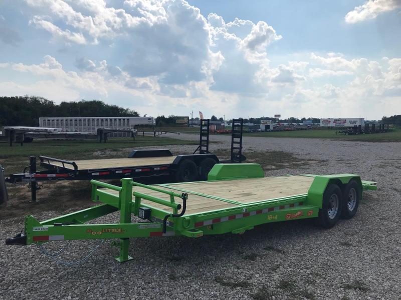 2019 Doolittle Trailer Mfg GT822214K Equipment Trailer