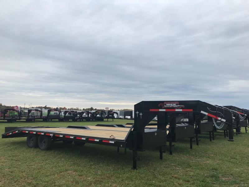 2020 Starlite Trailers 25TAGN-LP DECKOVER Equipment Trailer