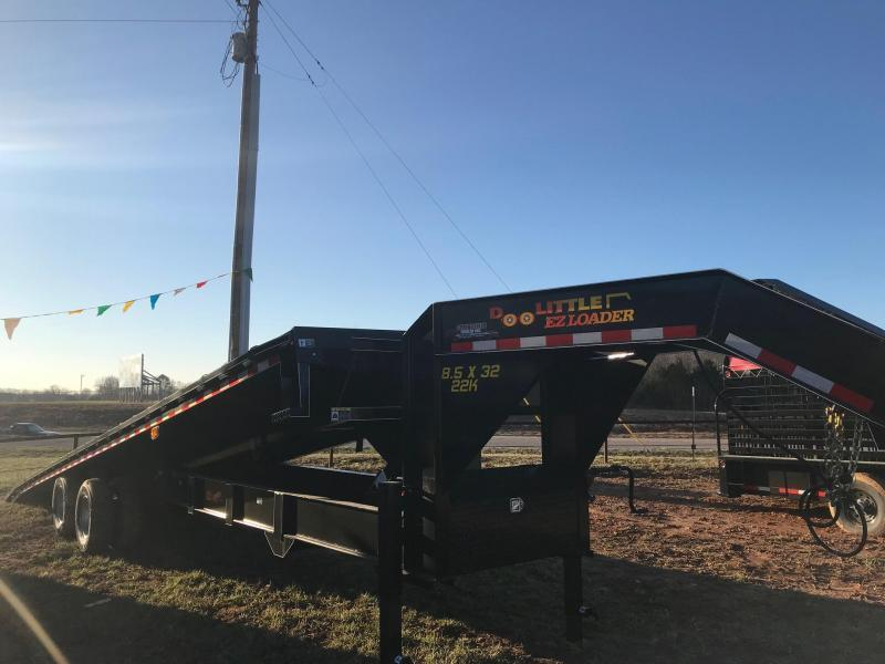 2020 Doolittle Trailer Mfg BF1023222K DECKOVER TILT Equipment Trailer