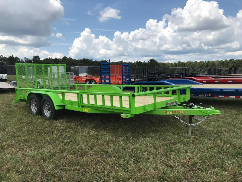2019 Doolittle Trailer Mfg UT84X187K Equipment Trailer Utility Trailer