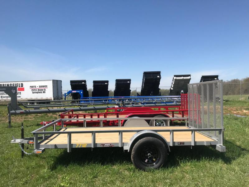 2019 Doolittle Trailer Mfg RS77X123K Utility Trailer