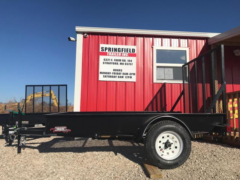 2019 Doolittle Trailer Mfg MSS608 Utility Trailer