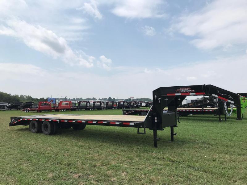 2019 Starlite Trailers 32TDGN-LP DECKOVER Equipment Trailer