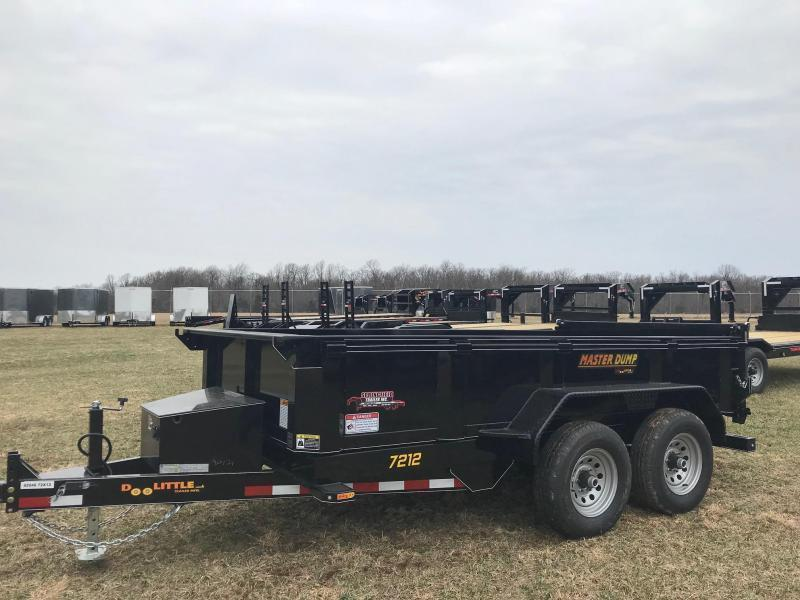 2020 Doolittle Trailer Mfg MD721210K Dump Trailer
