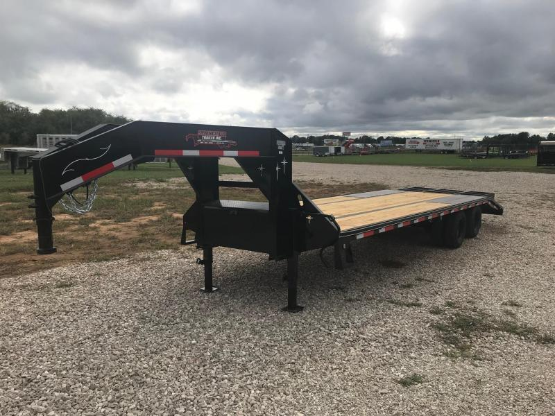 2019 Starlite Trailers 25TDGN-LP DECKOVER Equipment Trailer