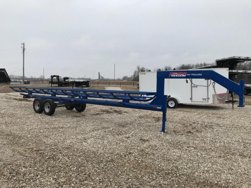 2019 Freedom Trailers 32' SINGLE OW HAY TRAILER Dump Trailer