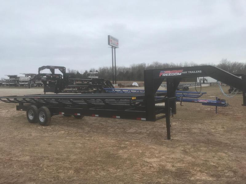 2020 Freedom Trailers 28'DOUBLE ROW HAY TRAILER Dump Trailer
