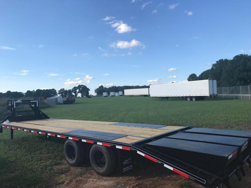 2020 Starlite Trailers 25TDGN-LP DECKOVER Equipment Trailer