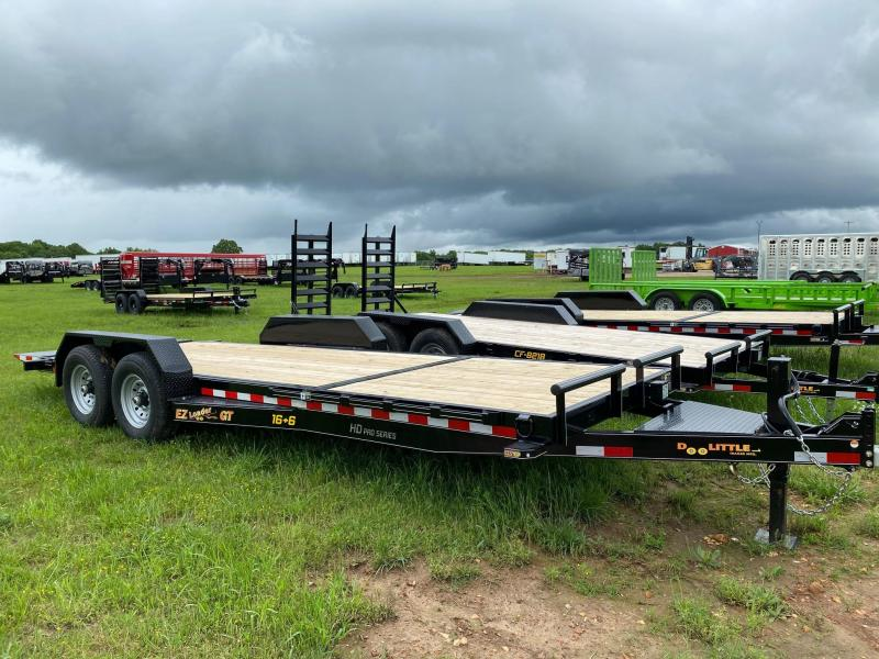 2020 Doolittle Trailer Mfg GT822214K TILT Equipment Trailer