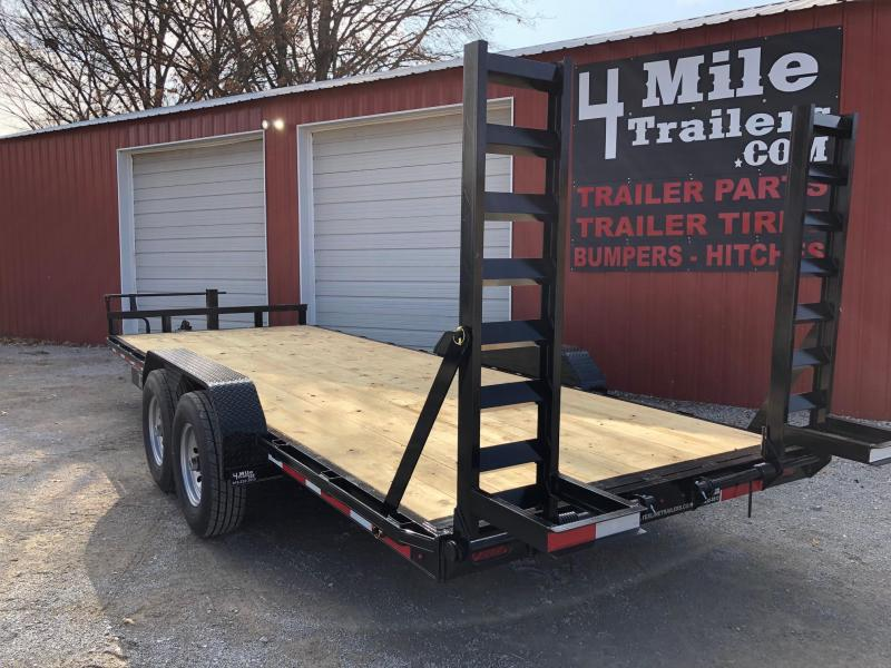 "2020 TexLine  Bobcat 83""X20' Equipment Trailer"