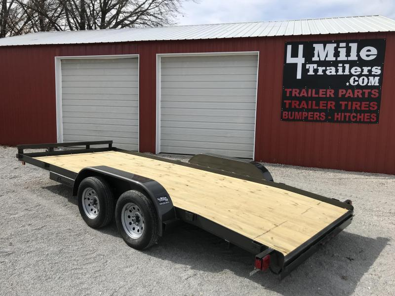 "2020 TexLine Patriot 83""x18' Car Hauler"