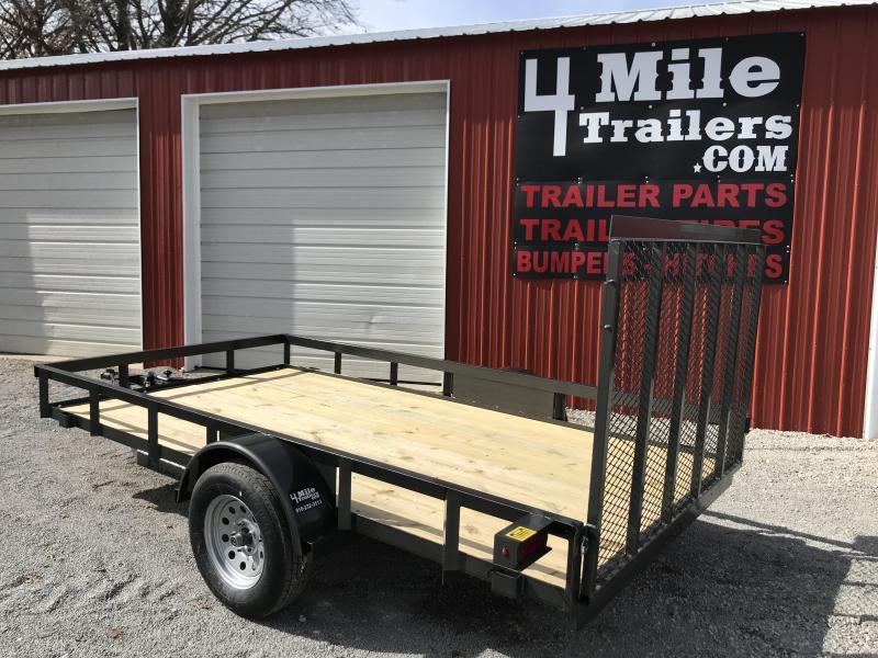 "2020 TexlLine 77""x12' Utility Trailer"