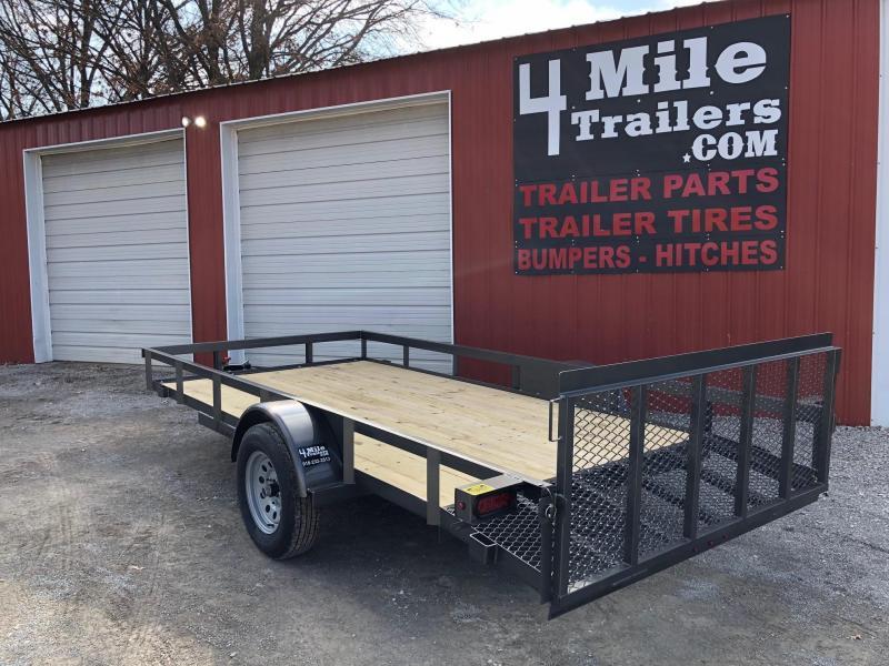 """2020 TexLine 77""""x14' Utility Trailer"""