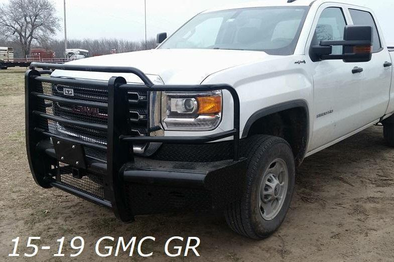 15-19 GMC Front Replacement Bumper