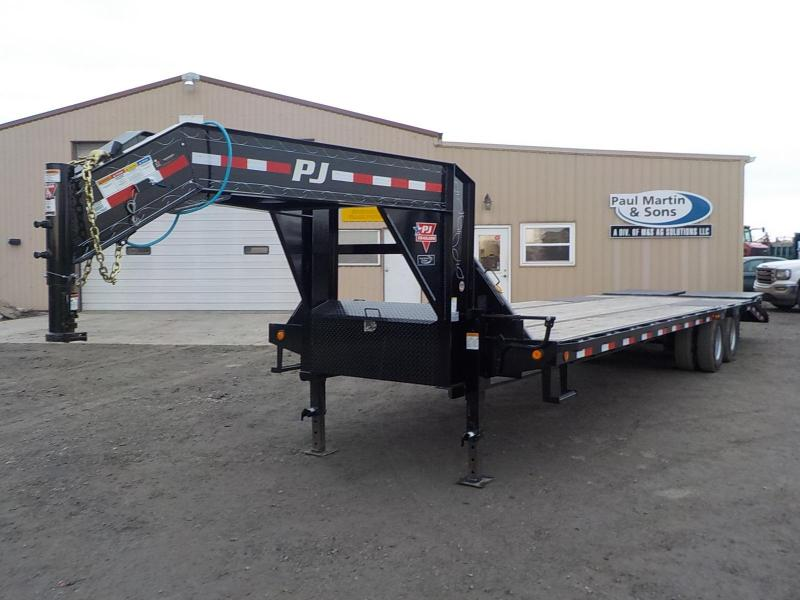 2020 PJ Trailers 32' Low Pro Flatdeck with Duals Flatbed Trailer