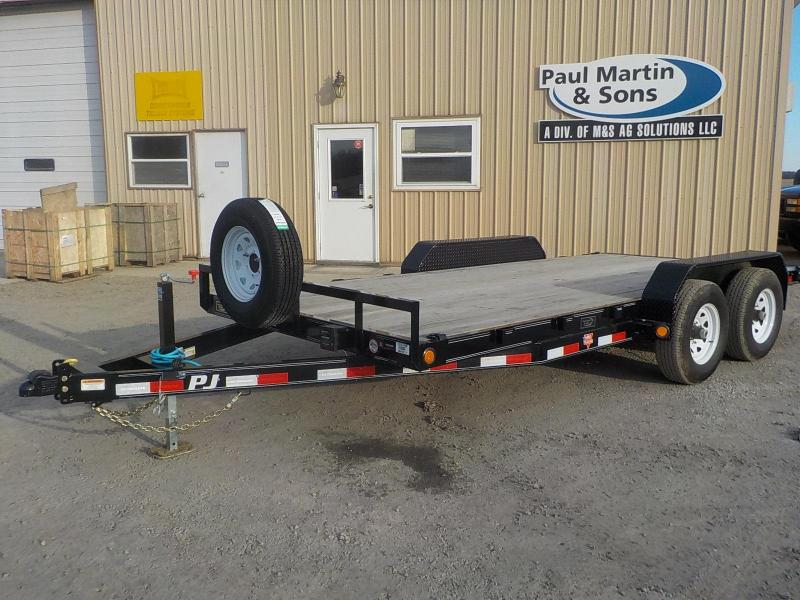 "2020 PJ Trailers 16'x5"" Channel Equipment Trailer Equipment Trailer"