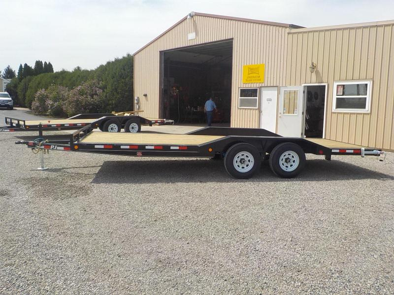 "2019 PJ Trailers 20'x5"" Channel Buggy Hauler Trailer"