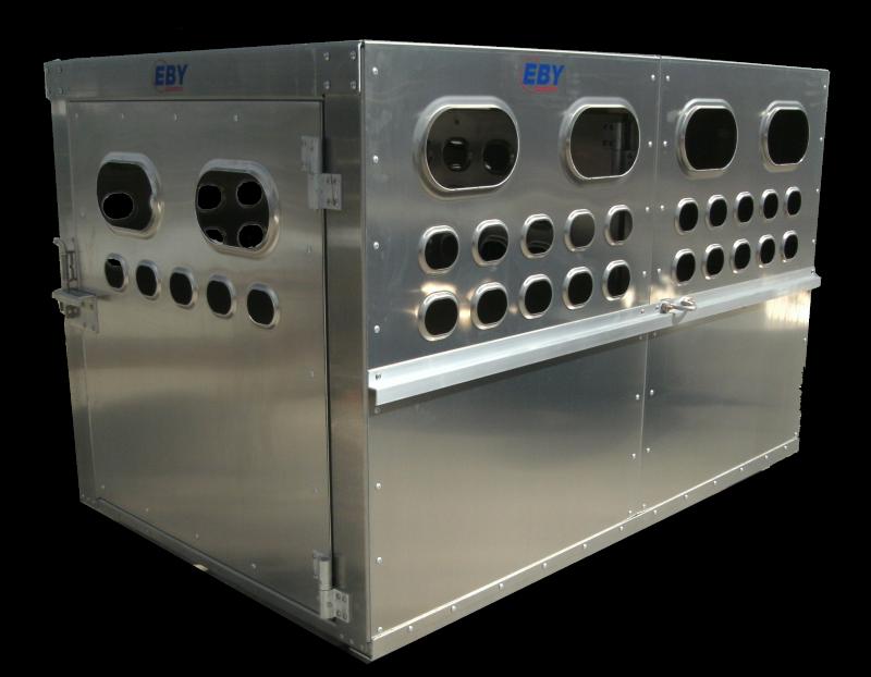 """EBY Livestock Box 6'L x 4'W x 46""""H  Box Livestock-Box"""