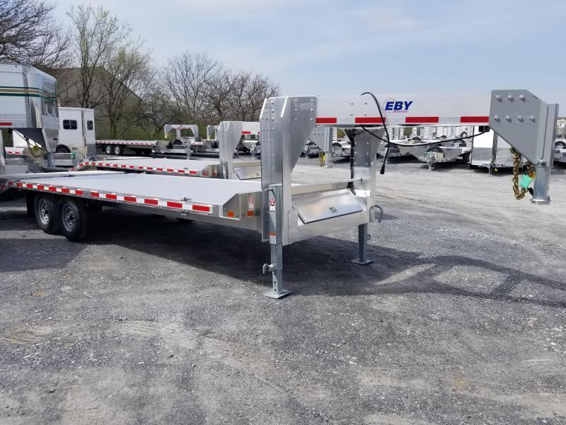 "EBY 24'6"" x 102"" Deckover 16K - 50/50 Ramps Equipment GN"