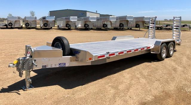 "2020 EBY 24'6"" Low Profile Bumper Hitch Equipment Trailer"