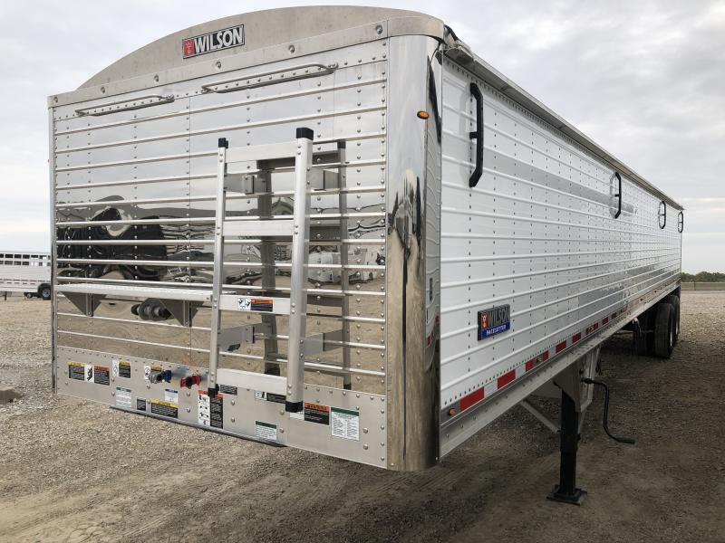 "2019 Wilson 41'x96""x66"" Hopper Grain Trailer"