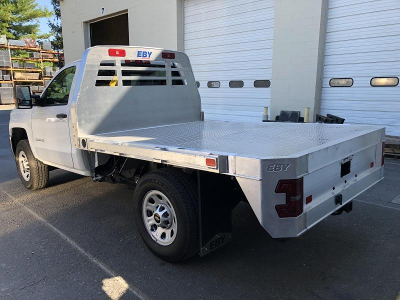 "EBY 9' x 84-1/8"" Big Country Flatbed"