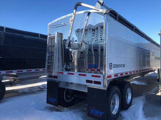 2021 EBY EBY Generation Grain Trailer 42x96x72 Pre Painted White Charter Pkg - Field Clearance  Semi Grain Trailer