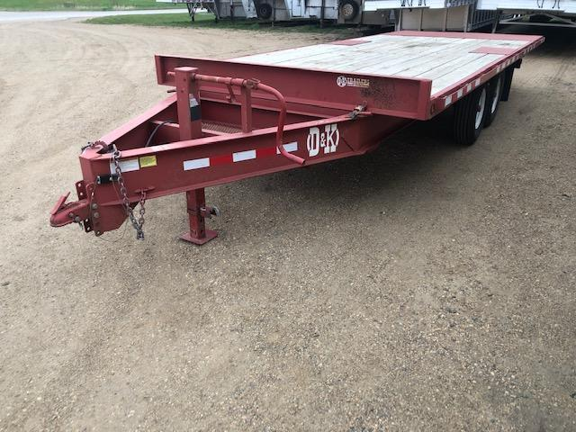 2015 D and K Trailers Tilt Bed Equipment Trailer