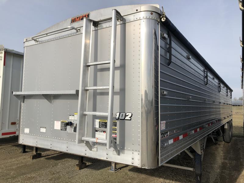 "2014 Timpte 40' x 102"" x 72"" Grain Hopper Trailer"