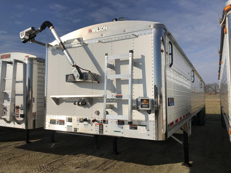 "USED 2018 WILSON 41' X 96"" X 66"" Grain Hopper Trailer"