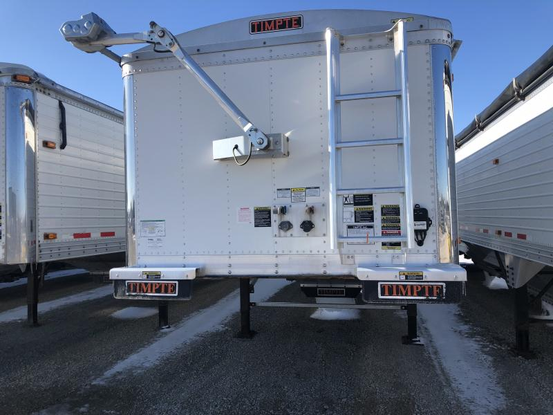 "2015 Timpte 40' x 96"" x 66"" Grain Hopper Trailer"