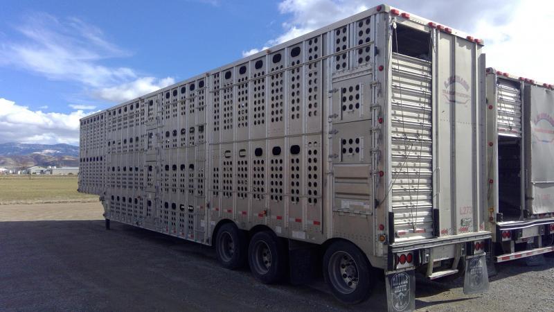 2018 Merritt 53' Livestock Semi Trailer