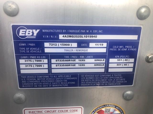 """Eby EBY GN16K24 24'6"""" x 102"""" Deckover 15.9K GN - 50/50 Ramps  GN Equipment"""