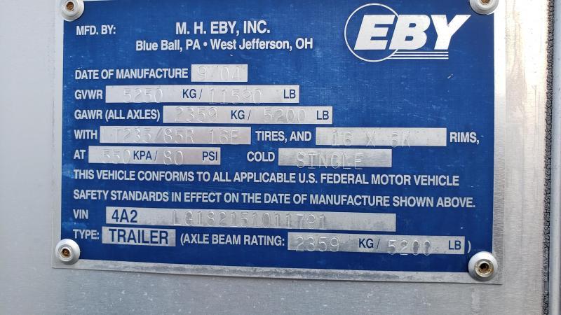 2005 Eby 3 Horse Slant