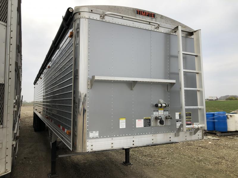 "USED 2015 TIMPTE 42 'x 96"" x 78"" SILVER  Hopper Trailer"