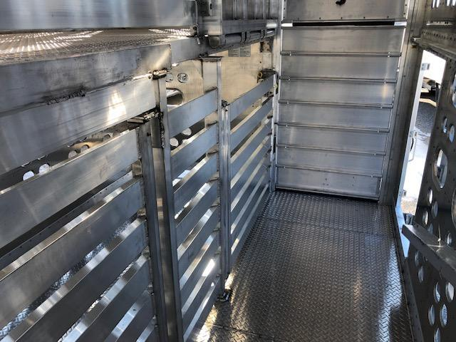"2021 EBY Trans Pork 53'x102""x13'6"" Drop Floor Livestock Trailer"