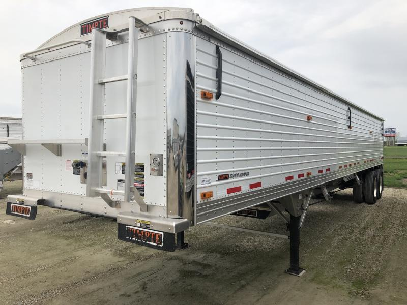 "USED 2017 TIMPTE 40'X96""X66""  Hopper Trailer"