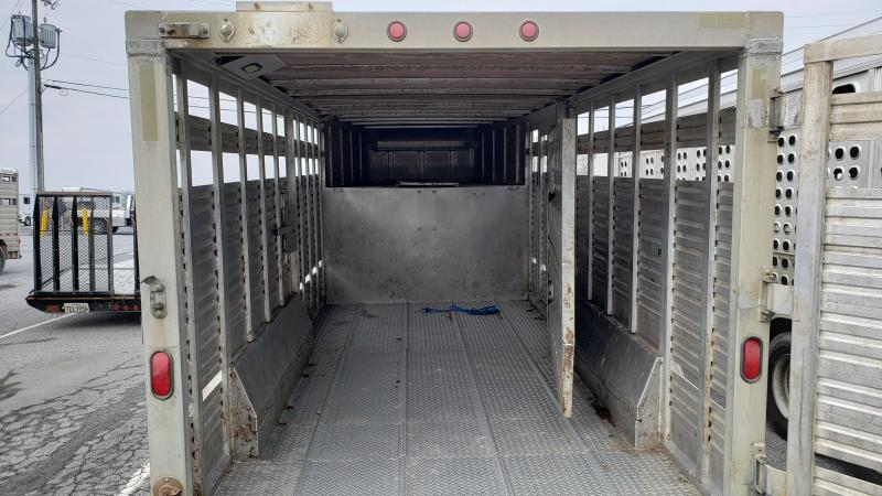 "1998 EBY 16' x 7'6"" x 6'6"" Wrangler Livestock Trailer"