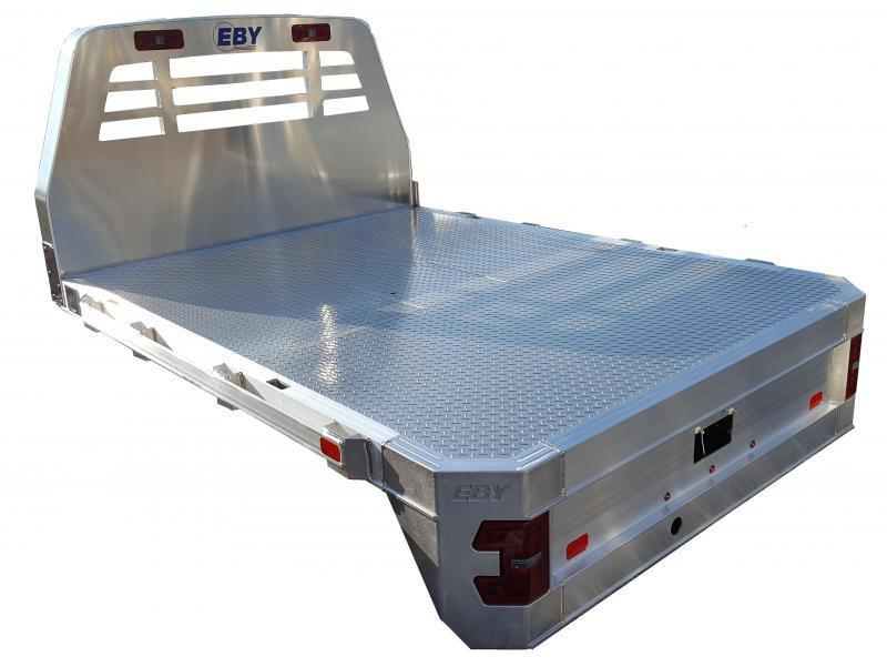 "EBY 8'6"" x 84-1/8"" Big Country Flatbed"