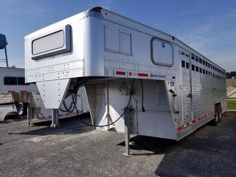 2016 EBY 26' Ruff Neck Livestock Trailer