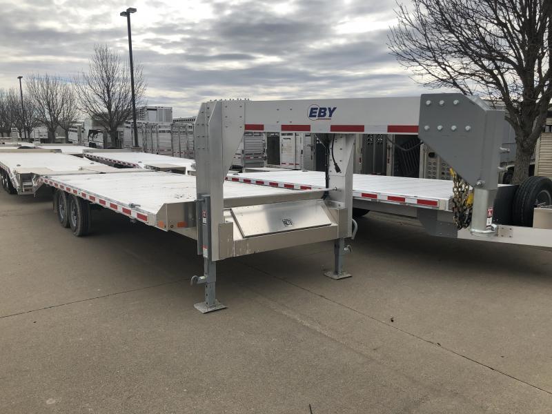 "2019 EBY 24'6"" x 102"" Deckover GN Equipment Trailer"