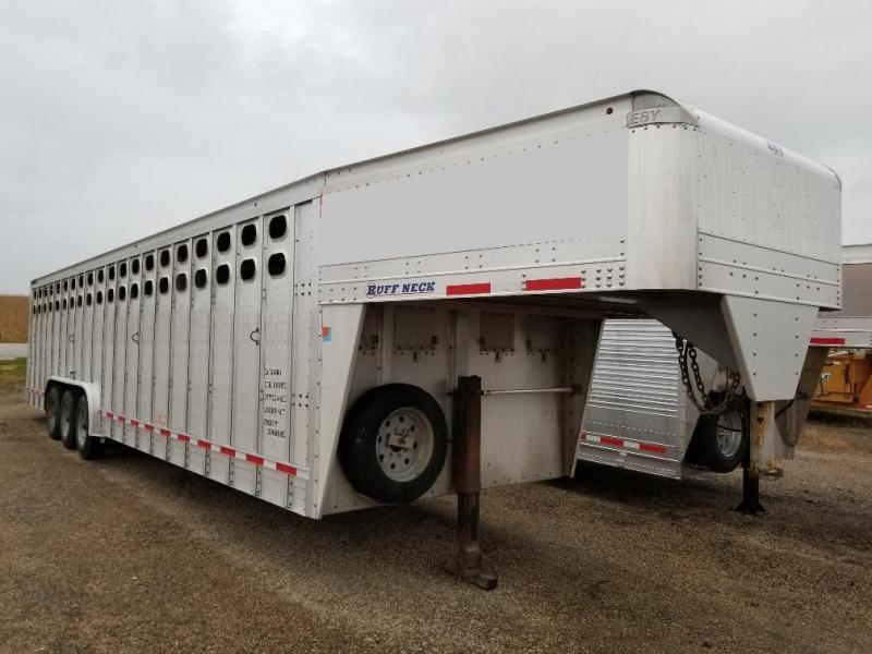 "2016 EBY Ruff Neck 32'x8'x6'6""  GN Livestock"
