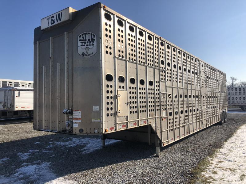 2014 Merritt 2014 Merritt 51 x102 closed tandem  Pot Livestock-Semi