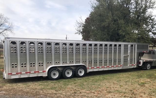 """2020 EBY Ruff Neck 32'x8'x6'6"""" GN Livestock- Located in TX"""