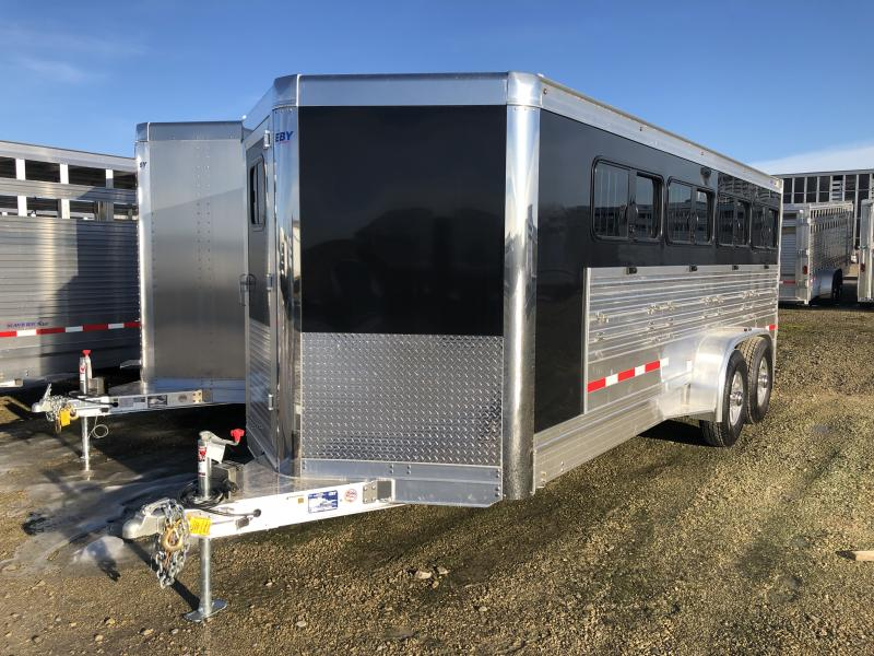 "2020 EBY 19' x 6'11"" x 6'3"" Maverick Bumper Hitch Trailer"