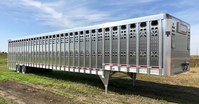 2020 EBY Bull Ride Ground Load Livestock