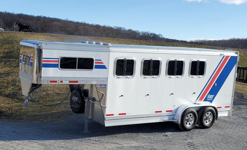 """2020 Eby 3/4 Pacesetter 18' x 6'11"""" x 7'6"""" GN Horse"""